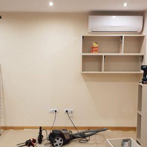 Police i TV komoda za dnevnu sobu po meri 1