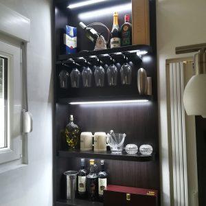 Police za piće i čaše 3